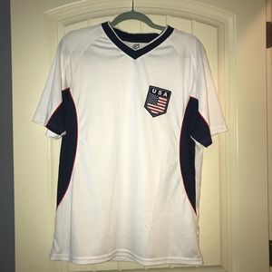 Sz L team USA women's soccer  jersey. Worn once.